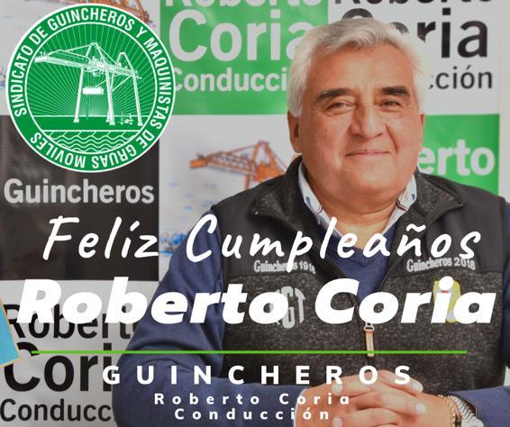 GuincherosTv 📺 Feliz Cumpleaños 👏🏼Roberto Coria de todxs los Compañerxs que formamos parte de esta familia de #Guincheros #robertocoriaconducción