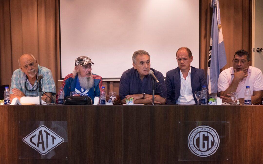 """Asamblea de gremios portuarios: """"Lo que no tenemos que permitir es quedar encerrados en la lógica de la disputa comercial"""""""