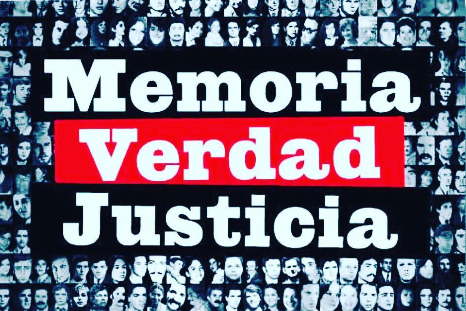 24 de Marzo Día nacional de la Memoria por la Verdad y la Justicia.