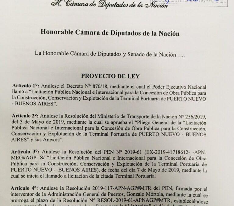 Romina Del Plá,Proyecto de Ley