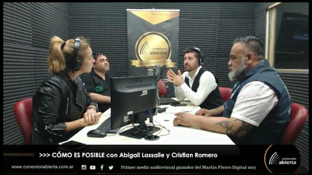 Entrevista a Leo Diaz y Daniel Maciel en Conexión Abierta