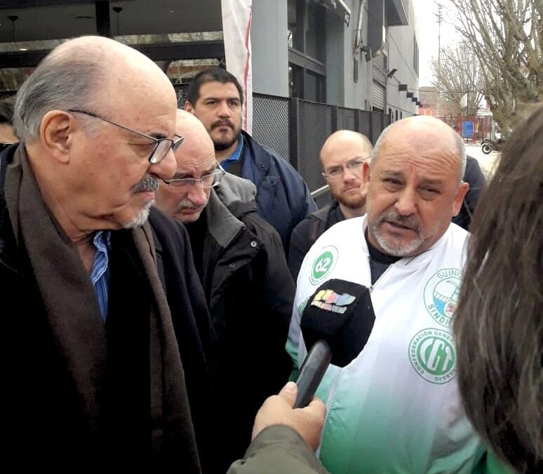 José Duckardt: «Si el puerto de Buenos Aires debe mejorar tiene que ser de manera limpia»