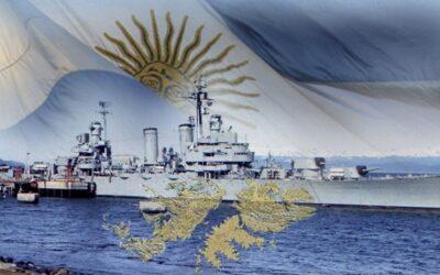 ¡Se cumplen 39 años del hundimiento del Crucero General Belgrano y los Guincheros recordamos a nuestros Héroes!