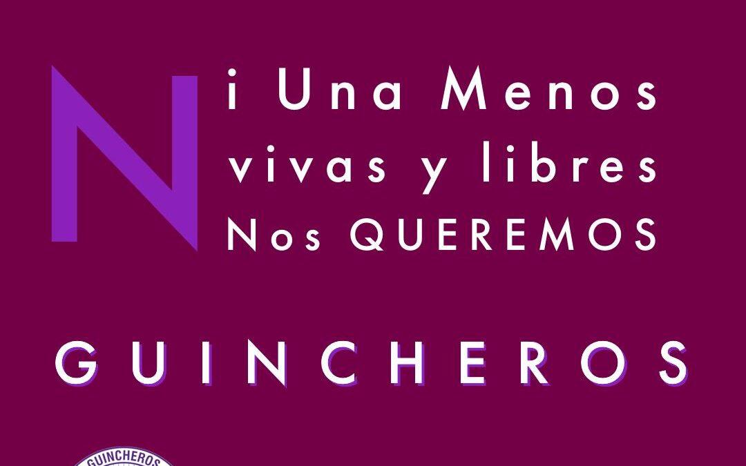 Hoy 3 de Junio, las y los #guincheros🏗️ nos unimos a la consigna de #NiUnaMenos y a la lucha por una efectiva igualdad de género, que es una deuda real de nuestra sociedad para con las compañeras de todo nuestro país💪#Guincheros por la Igualdad de Género #CoriaConducción